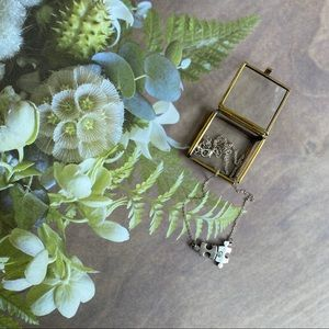 Jewelry - NWOT Silver Puzzle 🧩 Piece Sweetheart Necklace